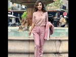 Cannes 2019 Hina Khan All Set For Interview Session Looks Stunning In Pink Nakuul Drashti Comment