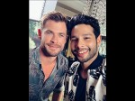 Siddhant Chaturvedi Selfie With Chris Hemsworth Fans Call It Too Much Hotness In One Frame