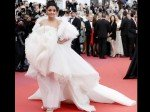 Aishwarya Rai Bachchan Looks Enchanting In An Icy White Feathered Gown On Cannes 2019 Red Carpet