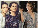 Kangana Rananut Sis Slams Journalist Mocking Hina Khan Cannes Debut Jennifer Winget Mrunal Support
