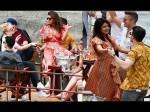 Priyanka Chopra Nick Jonas Chill On A Boat With Sophie Turner Joe Jonas In Paris Pics