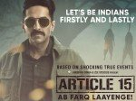 Article 15 Movie Review Live Audience Update On Ayushmann Khurrana