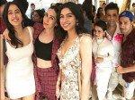 Inside Sonam Kapoor Birthday Brunch Karisma Kapoor Varun Dhawan Janhvi Kapoor Cannot Stop Posingg