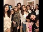 Ranbir Kapoor Aaradhya Steal All The Limelight From Aishwarya Rai Alia Bhatt Group Pic Rishi Kapoor