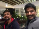 Sudeep Calls The Villain Director Prem His Younger Brother Shares An Emotional Tweet