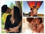 Charu Asopa Rajeev Sen Ekta Sumeet To Prince Narula Yuvika Chaudhary Tv Couples Lock Lips In Public