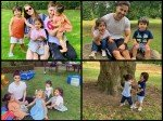 Taimur Ali Khan Chills Like A Boss Baby On A Play Date With Inaaya Khemu New Pictures From London