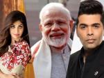 Karan Johar Shilpa Shetty Among Bollywood Celebrities To Congratulate Modi On Fit India Movement