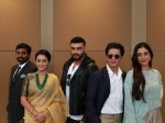 Shahrukh Khan Tabu Karan Johar Attend Indian Film Festival Of Melbourne