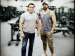 Salman Khan Works Out Like An Animal Dabangg 3 Villain Sudeep