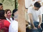 Hrithik Roshan Sister Sunaina Breaks Down At Grandfather J Om Prakash Funeral