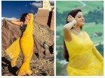 Devoleena Bhattacharjee Slays In Yellow Sari Her Pictures Make Us Wonder If Sridevi Inspired Her