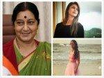 Rip Sushma Swaraj Divyanka Tripathi Rajeev Khandelwal Nia Sharma Tv Actors Express Condolences