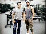 Salman Khan Works Out Like An Animal Dabangg 3 Villain Sudeep