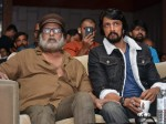 Exclusive Pictures From Pailwaan Press Meet Sudeep Shares Stage With Crazy Star Ravichandran