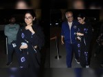 Khushi Kapoor Leaves For U S To Study Boney Kapoor Sees Her Off With Irrepressible Emotions