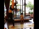 Video Taimur Watching Mum Kareena Kapoor Do Yoga Is Cutest Thing Ever