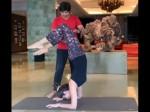 Video Shilpa Shetty Nails Difficult Asana Leaves Us Impressed
