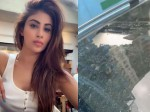 Mouni Roy Shares Video Of Car Damaged By Falling Rock At Metro Site Accuses Authorities