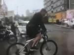 Mumbai Rains Salman Ditches Luxury Car Rides Bicycle To Dabangg 3 Sets