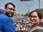 Sumalatha Dragged Into Pailwaan Piracy Controversy Accused Of Prompting War Between Sudeep Darshan