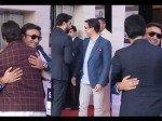 Abhishek Bachchan Hugs Vivek Oberoi Despite His Nasty Dig At Aishwarya Rai Bachchan Salman Khan