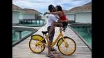 Pailwaan Actress Aakanksha Singh Intimate Pictue With Husband Goes Viral Holidays In Maldives