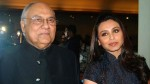Rani Mukerji Father Watched Debut Movie In Theatre Days After Bypass Surgery
