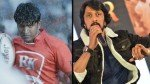 Sudeep Impressed With Puneeth Younger Look In Yuvaratna Butter Cake With A Nice Topping