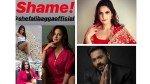 Bigg Boss 13 Zareen Khan Slams Journalist Shefali Bagga For Body Shaming Rashami Desai