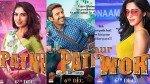 Pati Patni Aur Woh Posters Kartik Aaryan Bhumi Pednekar Ananya Panday Introduce Their Characters