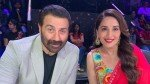 Happy Birthday Sunny Deol May Good Things Surround You Wishes Madhuri Dixit