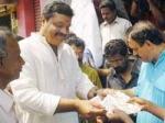Sureshgopi Sells Lottery Tickets
