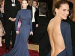 Hillary Backless Oscars