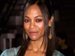 Zoe Saldana Engaged Britton