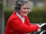 Susan Boyle Teary Train Ride