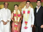 Celebrity Couples Soundarya Ashwin Wedding
