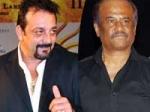 Rajinikanth Meets Sanjay Dutt