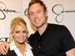 Jessica Simpson Engage Eric Johnson