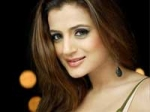 Amisha Patel Walks Out Rajdhani Express
