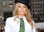 Fergie Aboard P Diddy Yacht