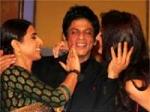 Shahrukh Khan Kiss Vidya Anushka 130111 Aid