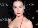 Dita Von Teese Offensive Cleavage Censored 150111 Aid