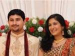 Swetha Mohan Ties Knot Ashwin 170111 Aid