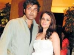 Bobby Deol Tania Birthday Holiday 260111 Aid