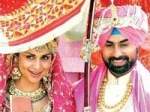 Gul Panag Marriage Rishi Attari 140311 Aid