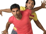 Akshay Kumar John Abraham Each Others Throat 280611 Aid