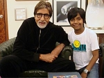 Amitabh Bachchan Meets I Am Kalam Harsh Mayar