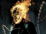 Flaming Skull Ghost Rider Spirit Vengeance