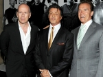 Arnold Bruce Willis Expendables Cast
